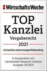 2WiWo_TOPKanzlei_Vergaberecht_2021_AntweilerLiebschwagerNieberding