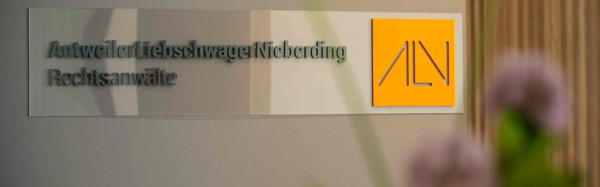Kanzlei Antweiler Liebschwager Nieberding Rechtsanwälte aus Düsseldorf